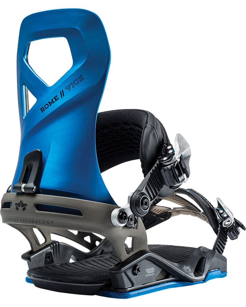 Rome Men's Vice Snowboard Bindings 2018 / 2019 Cobalt Blue 0