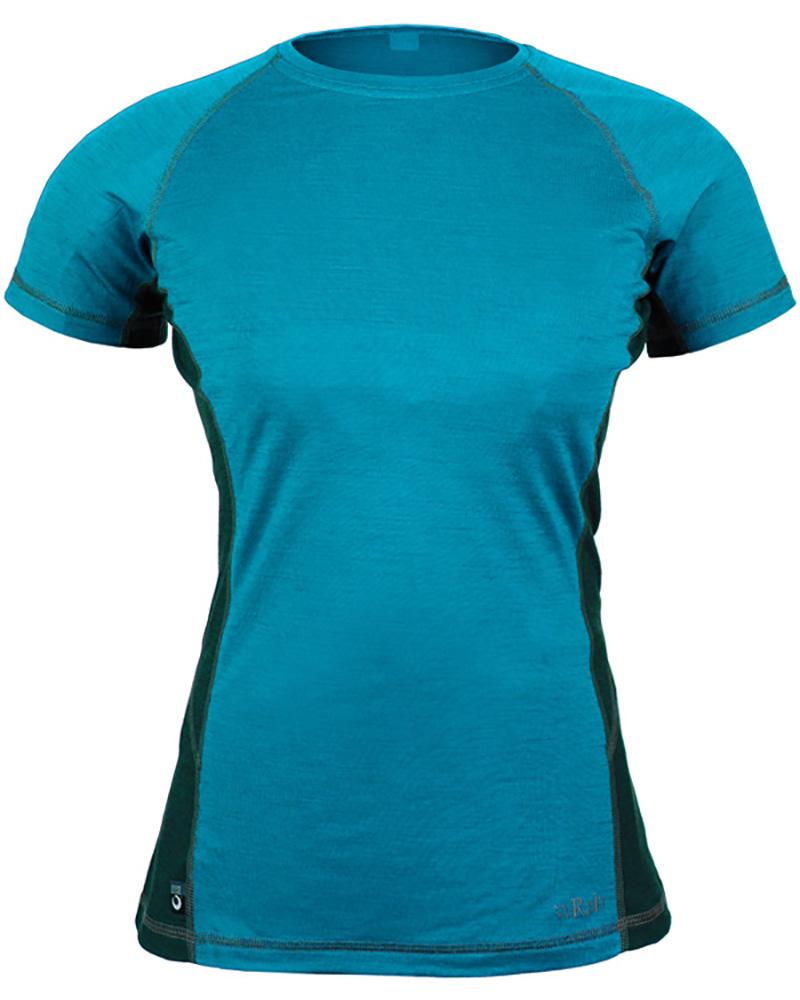 Rab Women's Merino MeCo 120 S/S T-Shirt 0