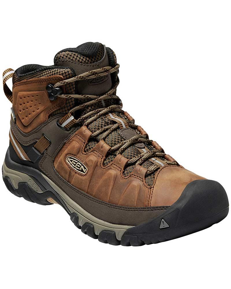 Keen Men's Targhee III Mid Waterproof Walking Boots Big Ben/Golden Brown 0