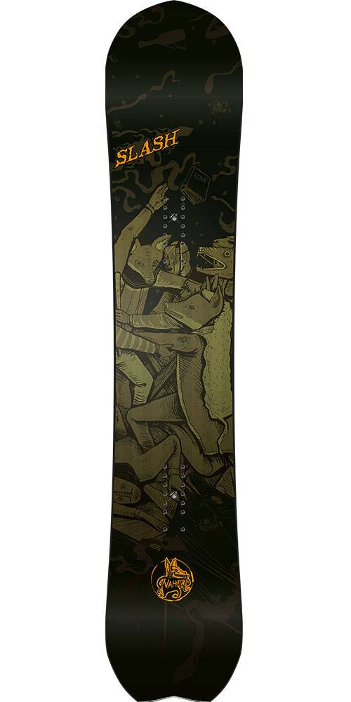 Slash Men's Nahual Snowboard 2016 / 2017 0