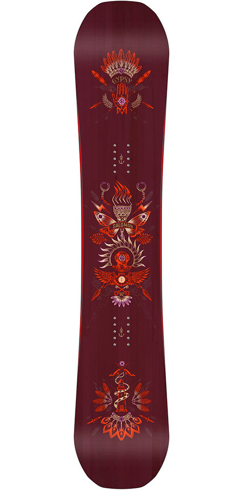 Salomon Women's Gypsy Snowboard 2017 / 2018 0