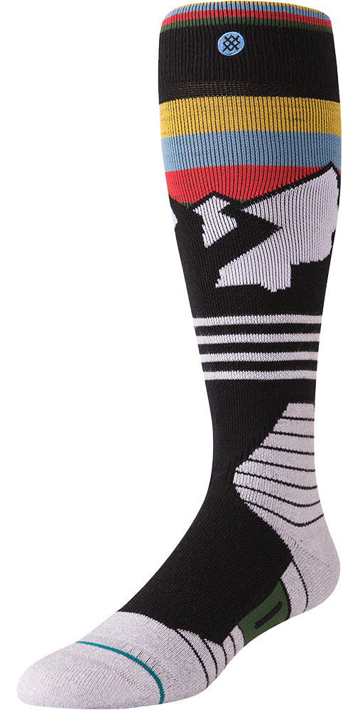 Stance Men's Wind Range Snowboard Socks Black 0