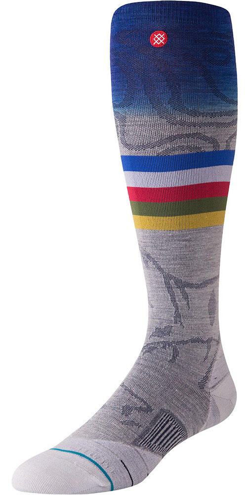 Stance Men's Jimmy Chin Snowboard Socks Grey 0