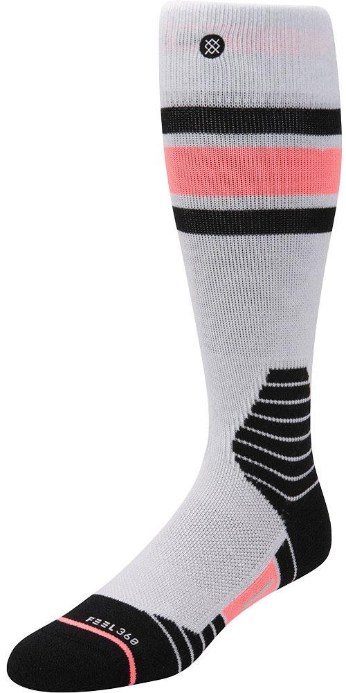 Stance Women's Waterfall Snowboard Socks Grey 0