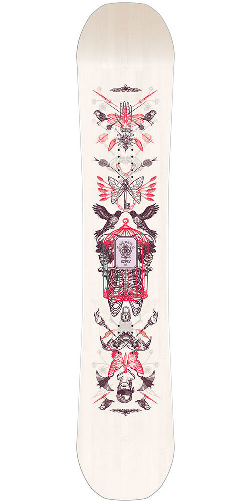 Salomon Women's Gypsy Snowboard 2018 / 2019 No Colour 0