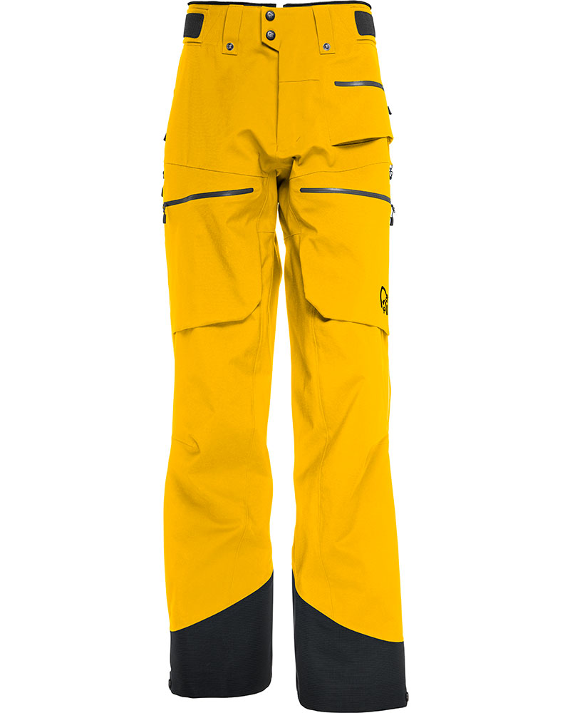 Norrona Men's Lofoten GORE-TEX Pro Ski Pants Eldorado Yellow 0