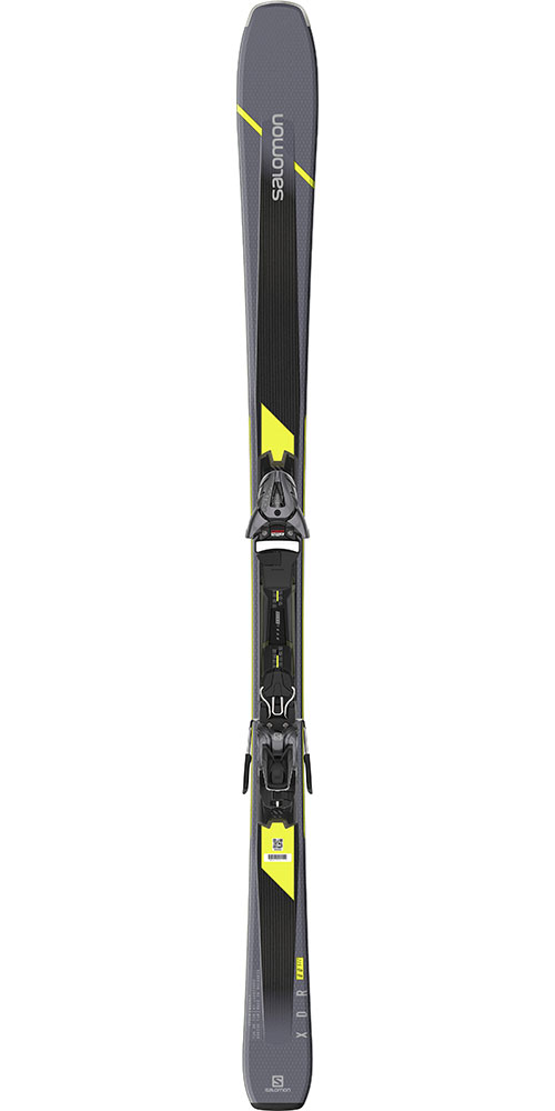 XDR 80 ST C Skis with Z10 GW Bindings 2020