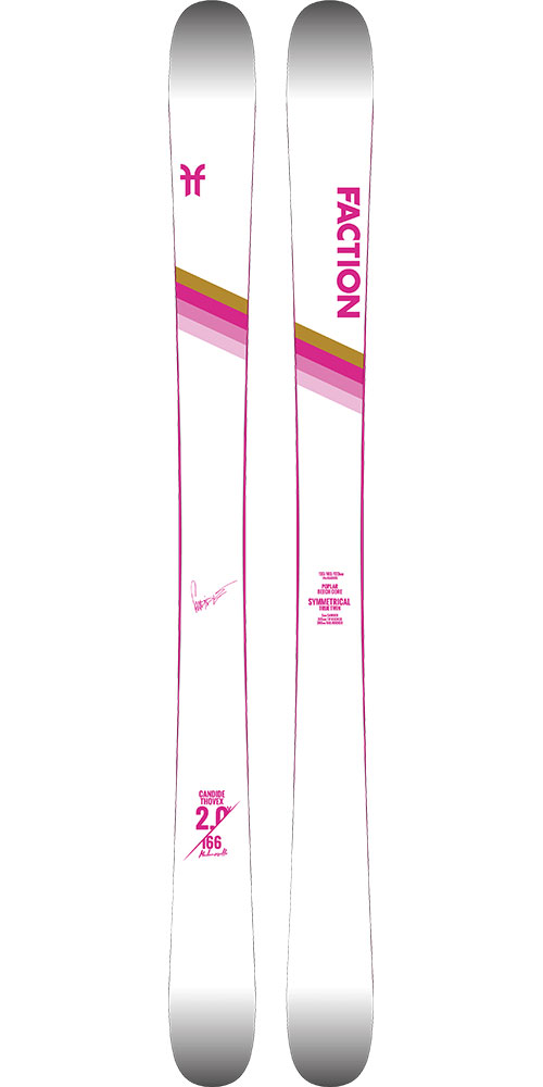 Faction Women's CT 2.0 X Mlle Freestyle Skis 2019 / 2020 0