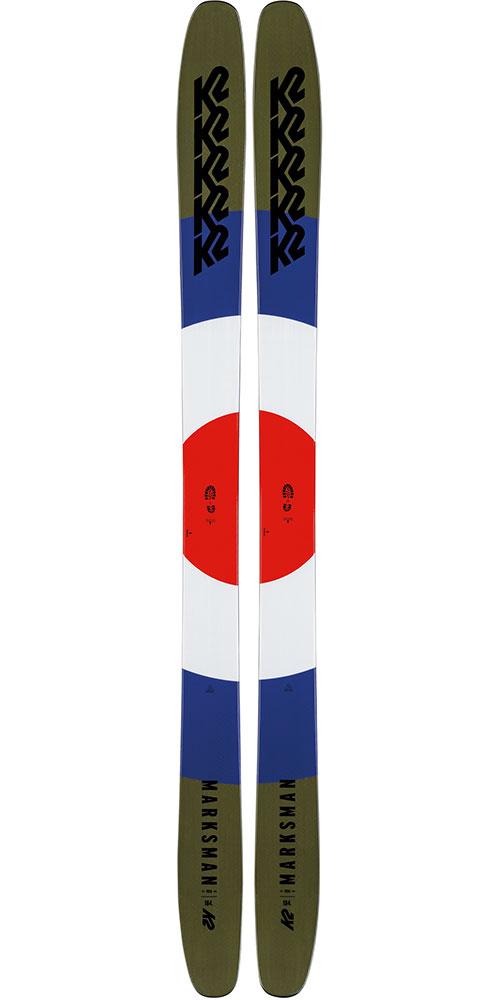 K2 Men's Marksman Freestyle Skis 2019 / 2020 0
