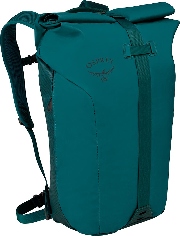Osprey Transporter Roll Backpack Westwind Teal 0