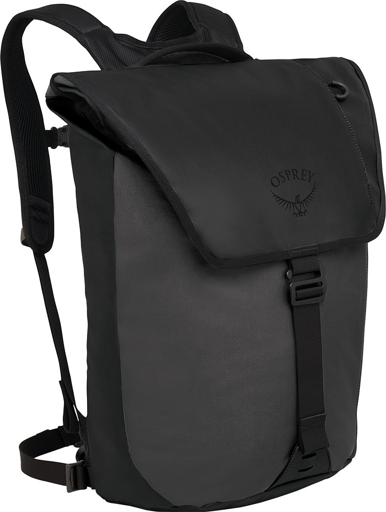 Osprey Transporter Flap Backpack Black 0