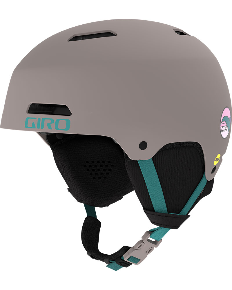 Giro Women's Ledge MIPS Snowsports Helmet 2019 / 2020 Matte Charcoal Hannah Eddy 0