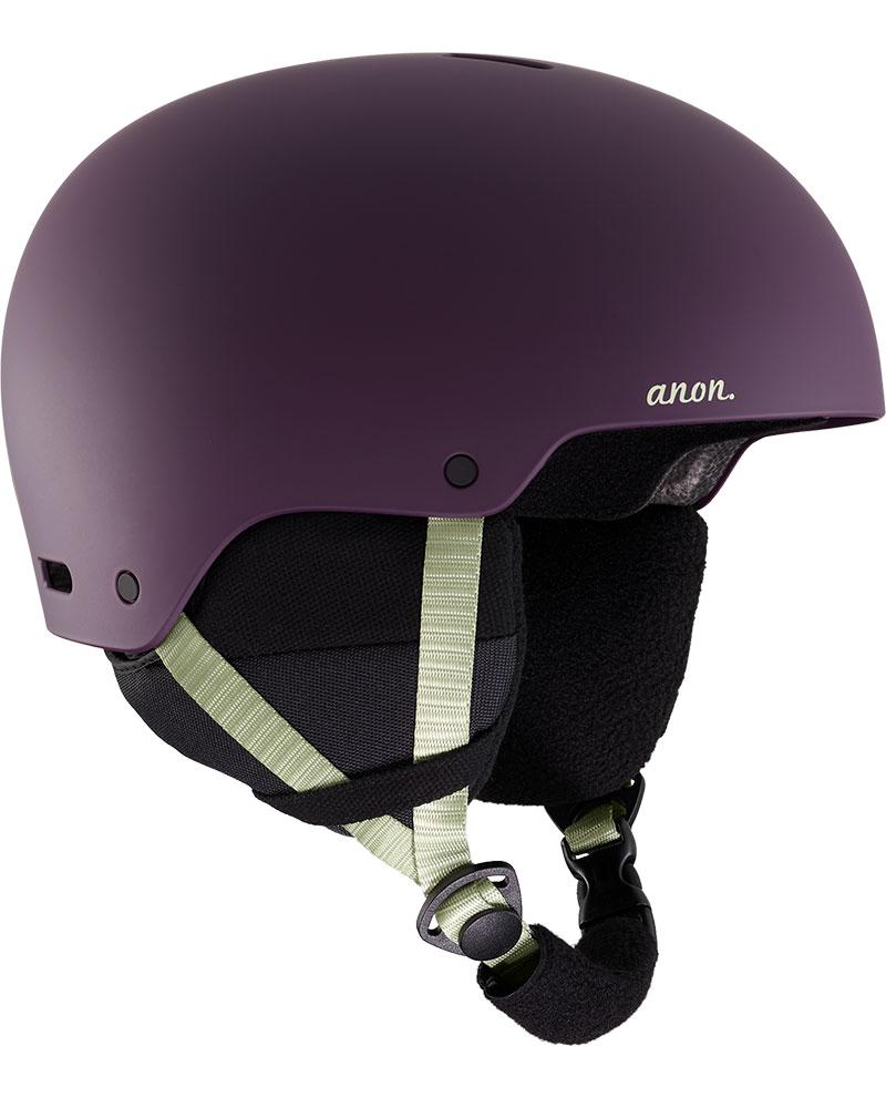 Anon Women's Greta 3 Snowsports Helmet 2019 / 2020 Purple 0