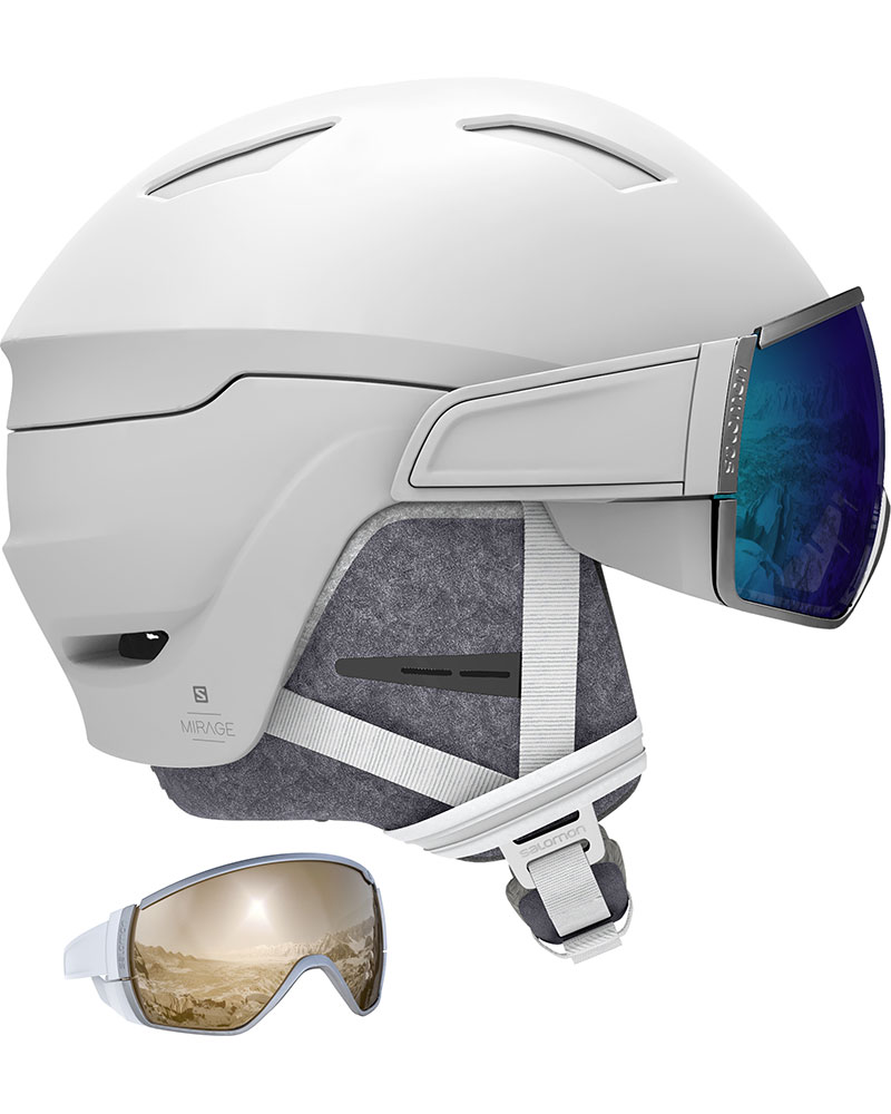Salomon Women's Mirage Snowsports Helmet 2019 / 2020 White 0