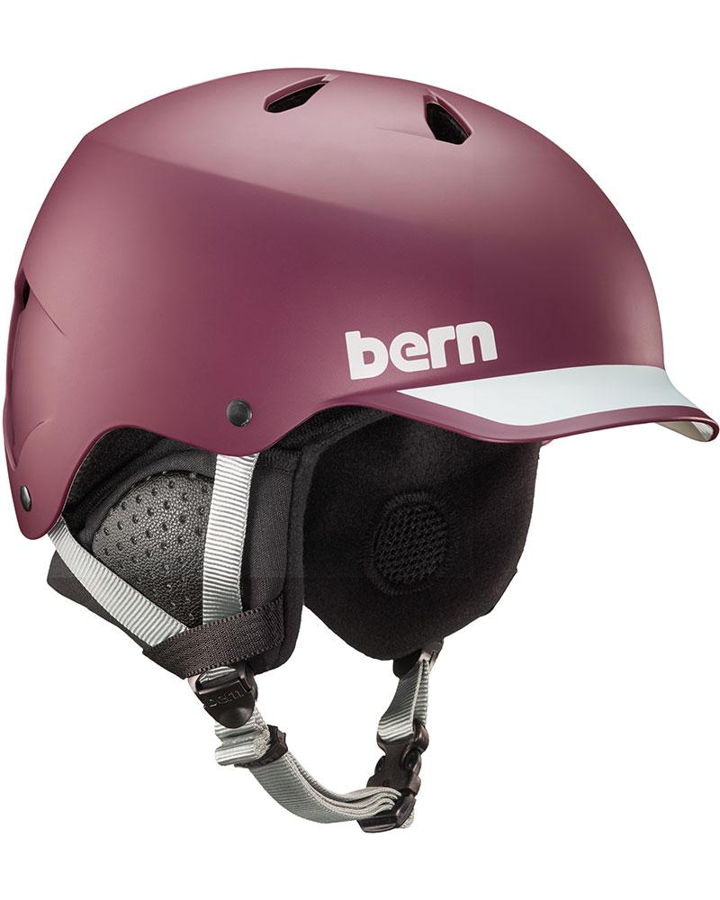 Bern Watts Snowsports Helmet 2019 / 2020 Matte Burgundy 0