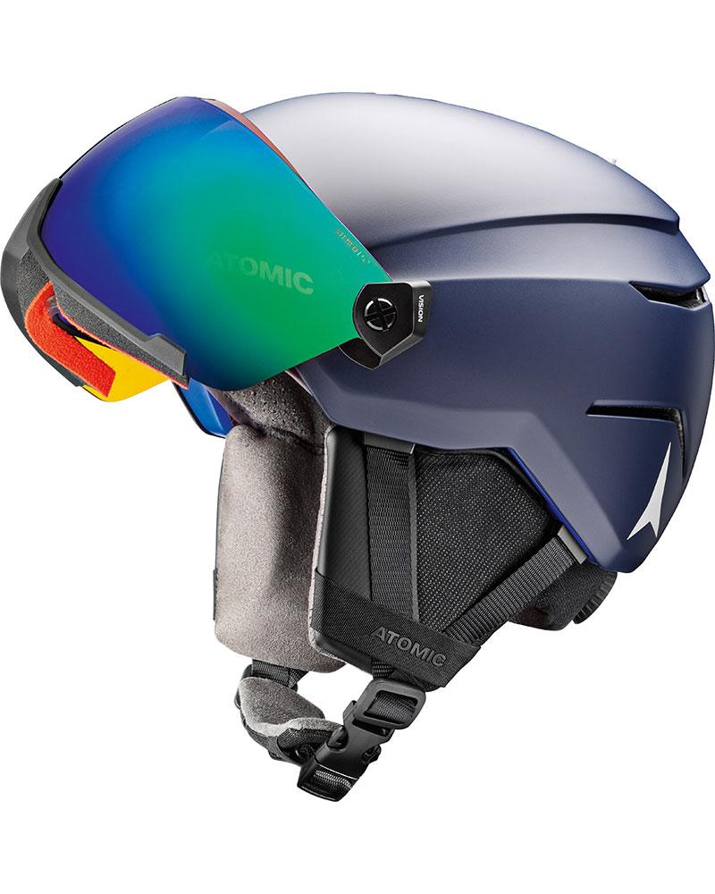 Atomic Savor Visor Stereo Snowsports Helmet 2019 / 2020 Dark Blue 0