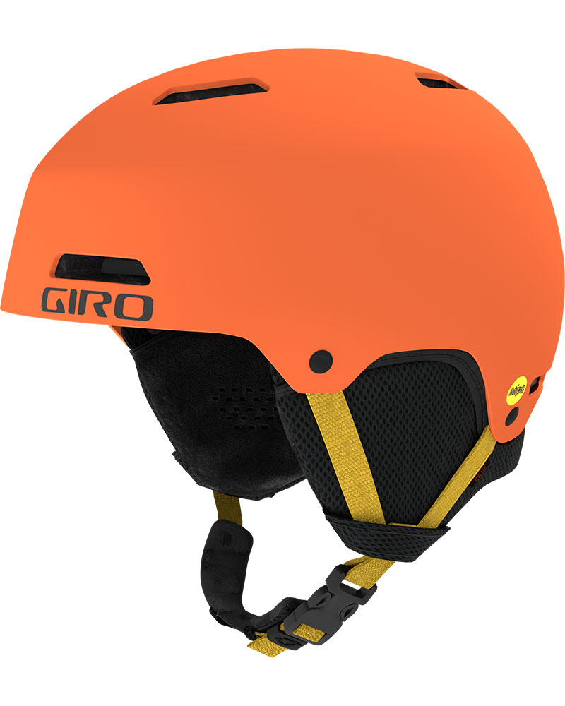 Giro Kids' Crue MIPS Snowsports Helmet 2019 / 2020 Matte Deep Orange 0