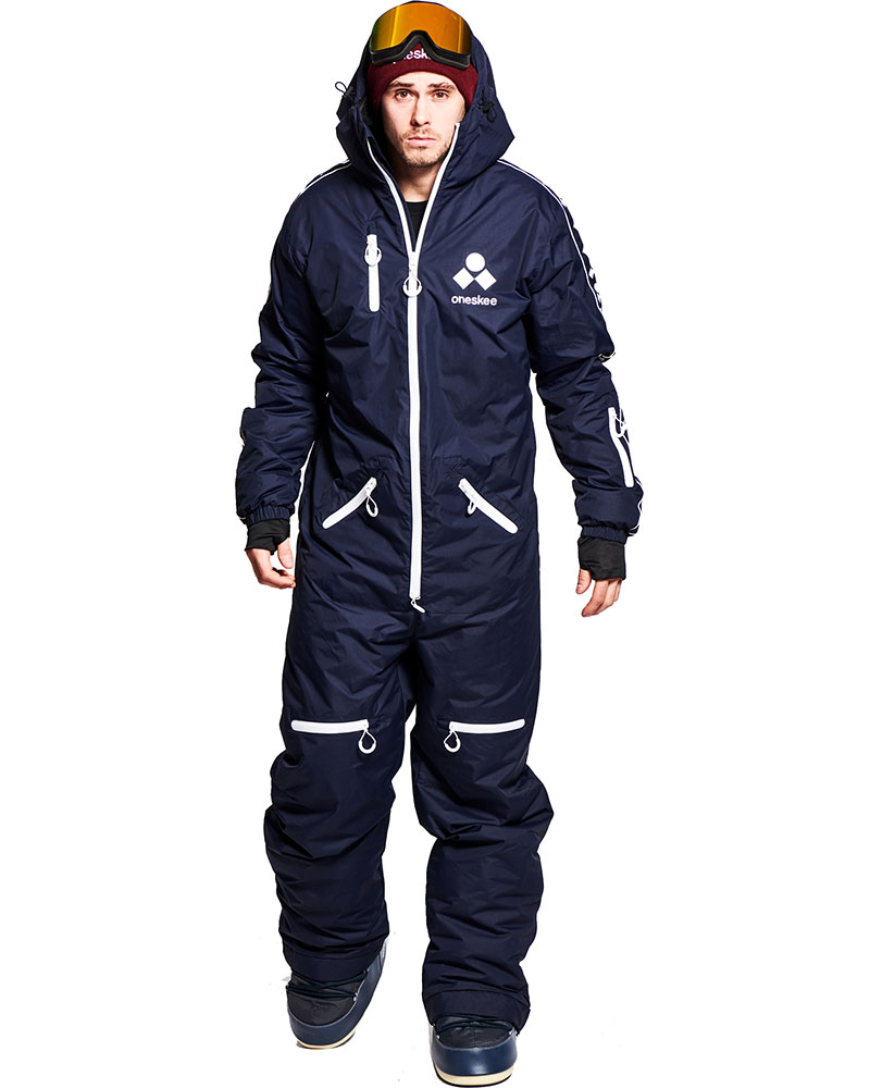 Oneskee Men's Original Pro Snow Suit - Navy 0
