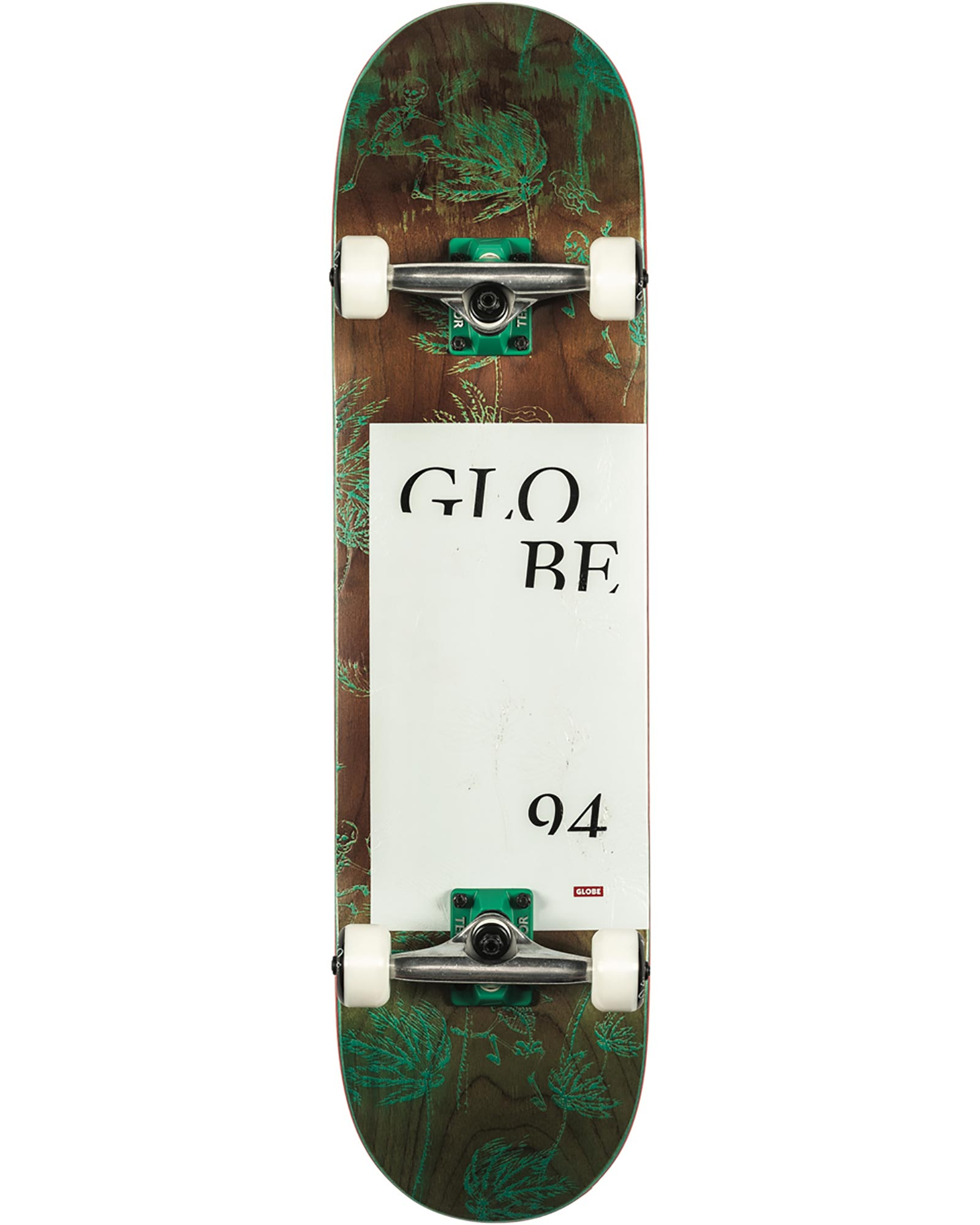 Globe G2 Typhoon Complete Skateboard 0