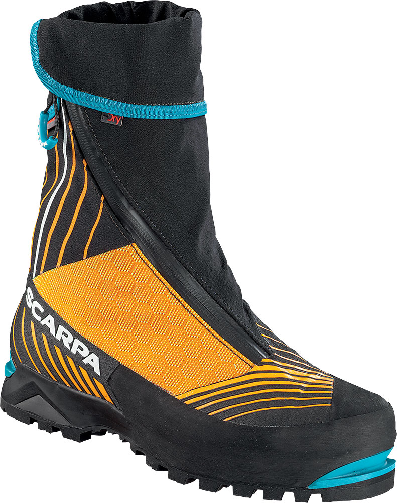 Scarpa Phantom Tech Mountaineering Boots Black/Orange 0
