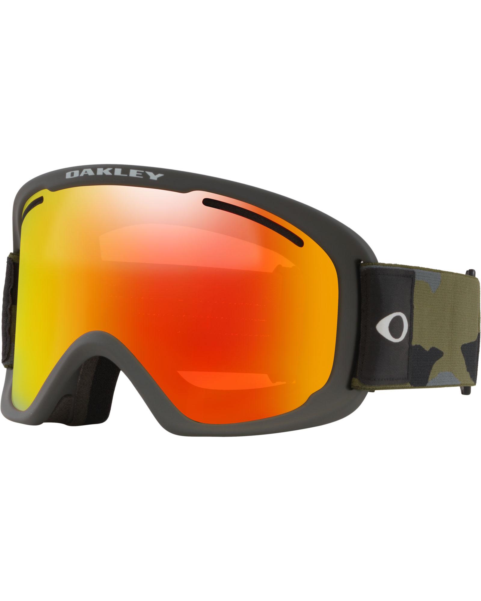 Oakley O Frame 2.0 Pro XL Dark Brush Camo / Fire Iridium + Persimmon Goggles 2020 / 2021 0