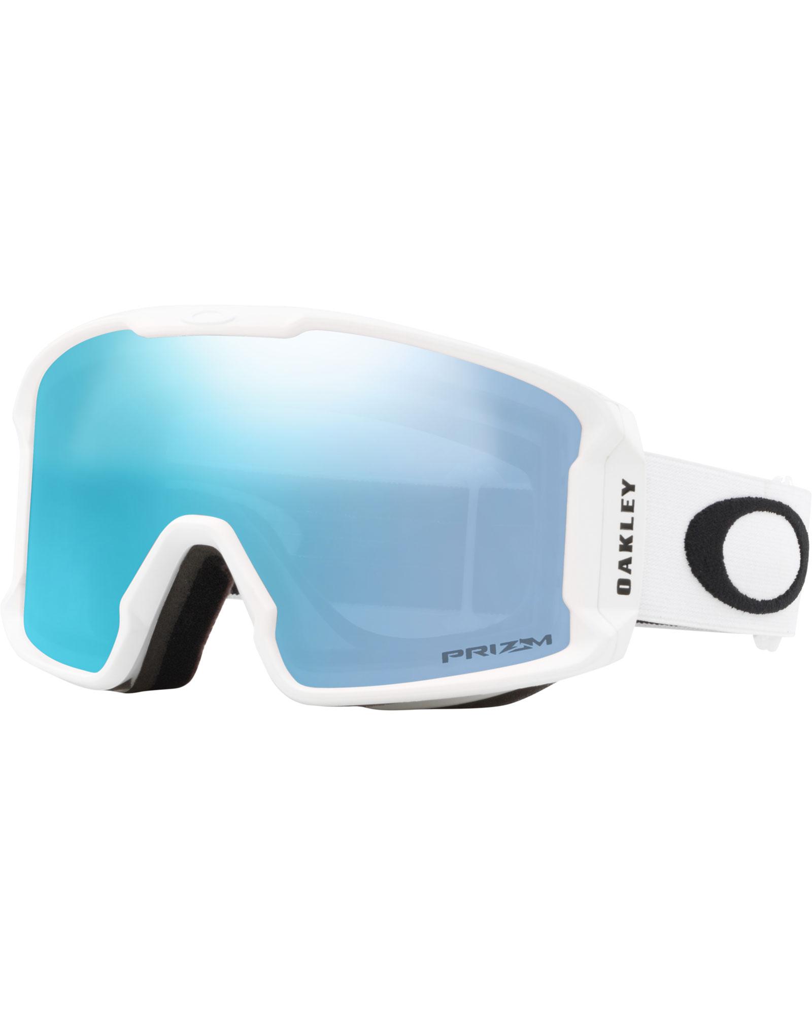 Oakley Line Miner XM Matte White / Prizm Sapphire Iridium Goggles 2020 / 2021 0
