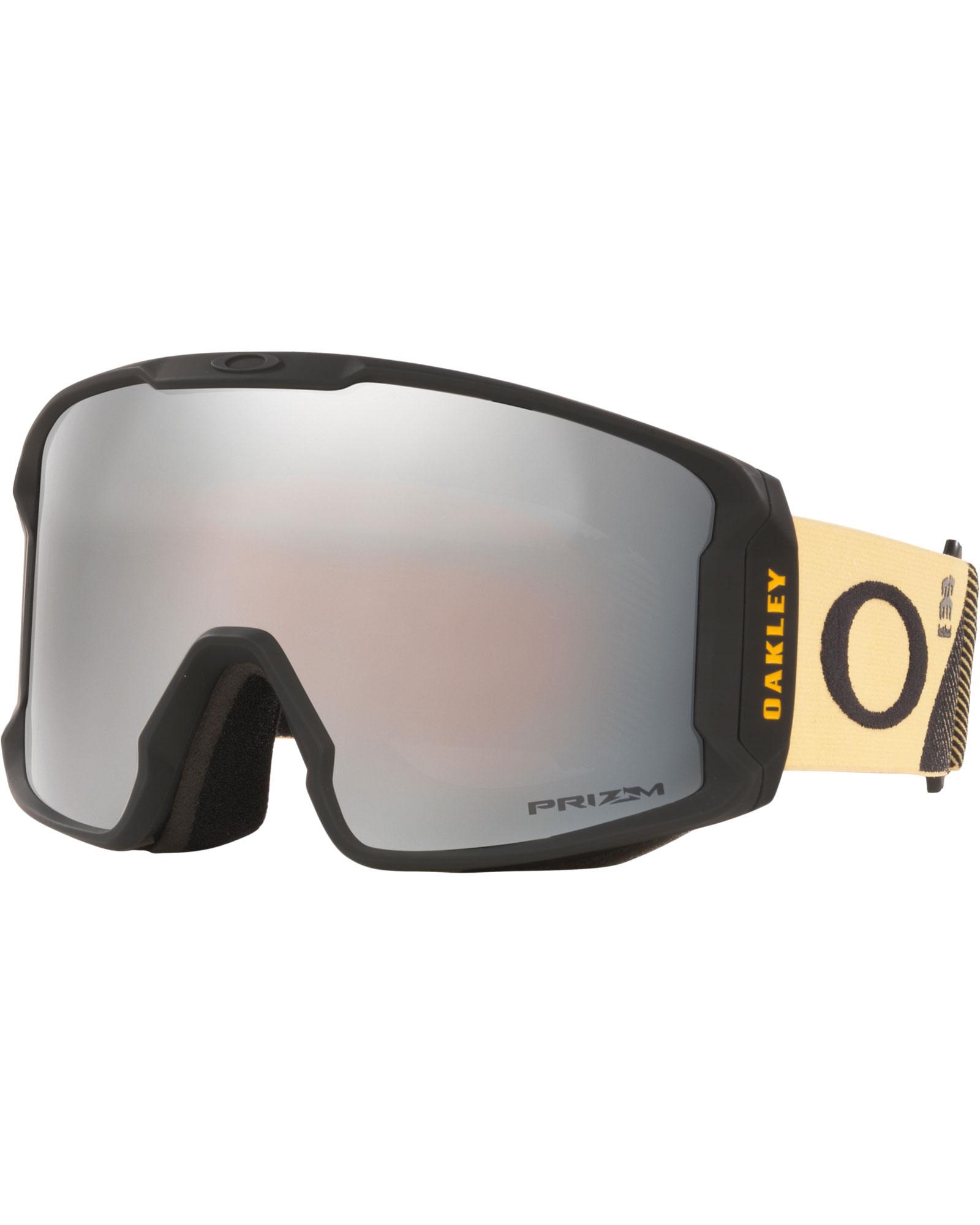 Oakley Line Miner XL Harlaut SIG Black n Yellow / Prizm Black Iridium Goggles 2020 / 2021 0