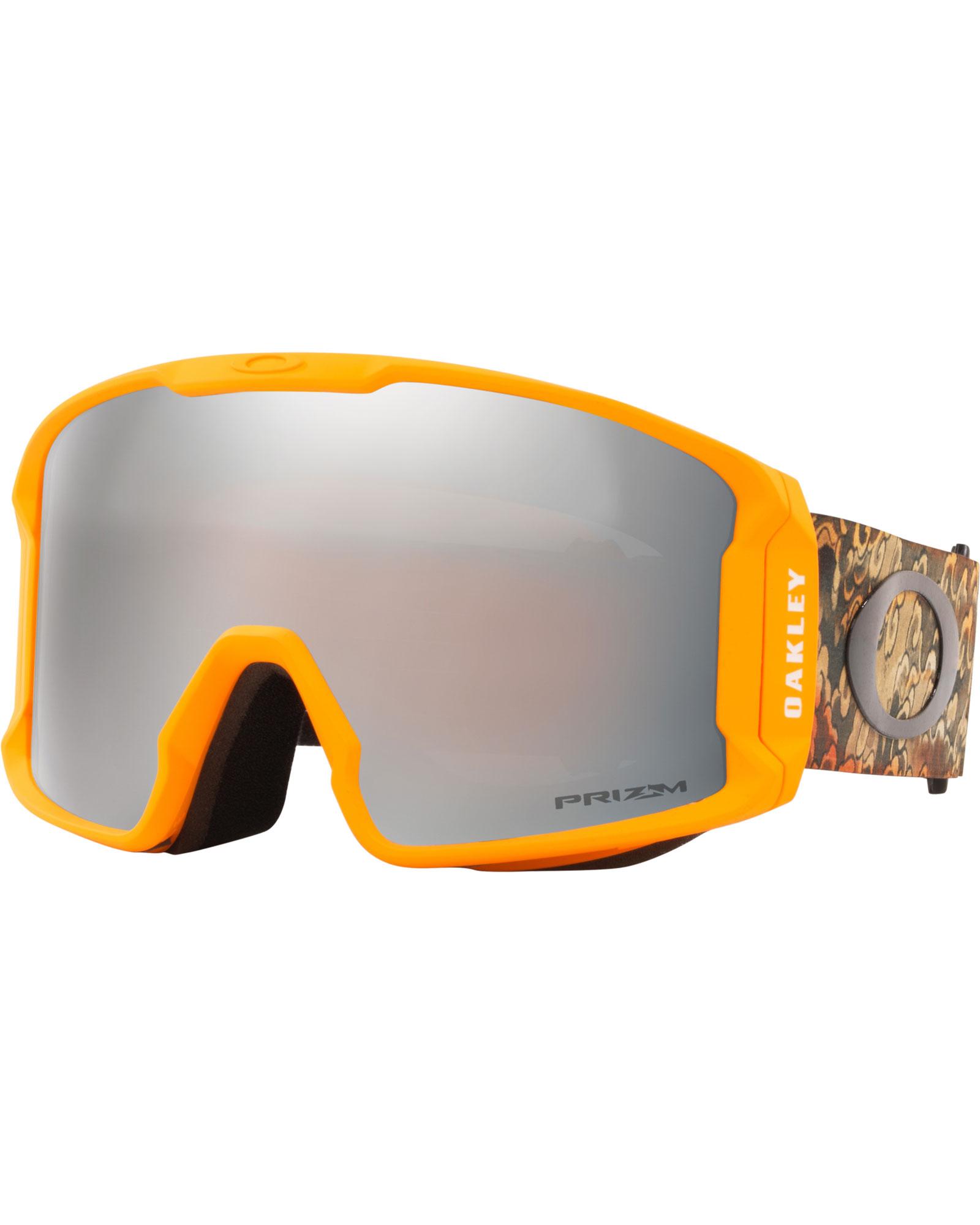 Oakley Line Miner XL Kazu SIG KamiKazu Derma Orange / Prizm Black Iridium Goggles 2020 / 2021 0