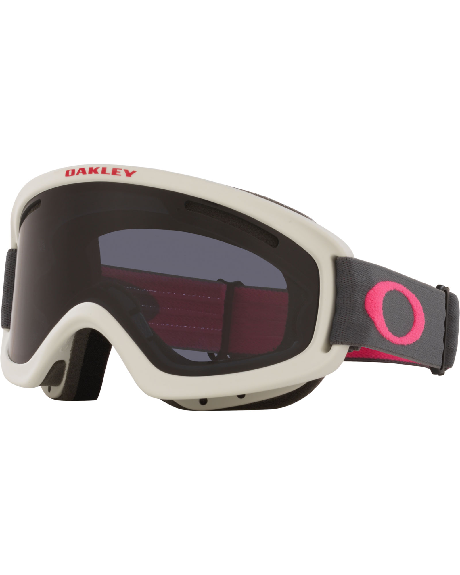 Oakley Kids' O Frame 2.0 Pro Kids' Dark Grey Rubine / Dark Grey + Persimmon Goggles 2020 / 2021 0