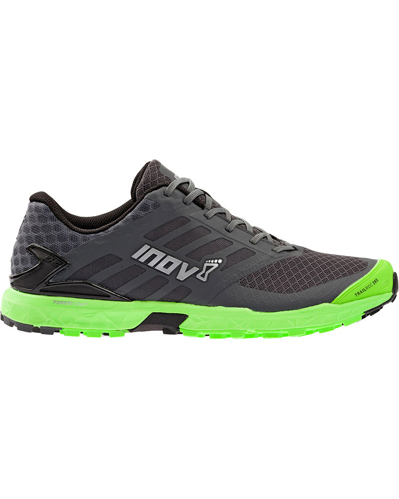 Inov-8 Men's Trailroc 285 Trail Running Shoes Grey/Green 0