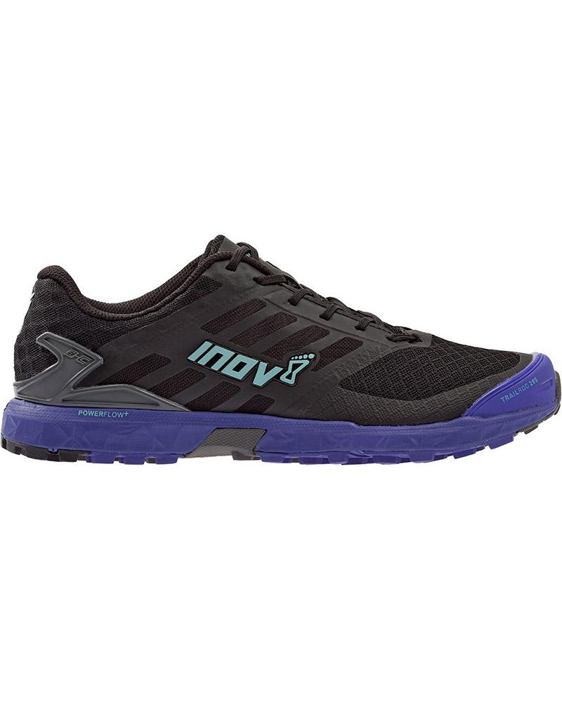 Inov-8 Women's Trailroc 285 Trail Running Shoes Black/Purple/Blue 0