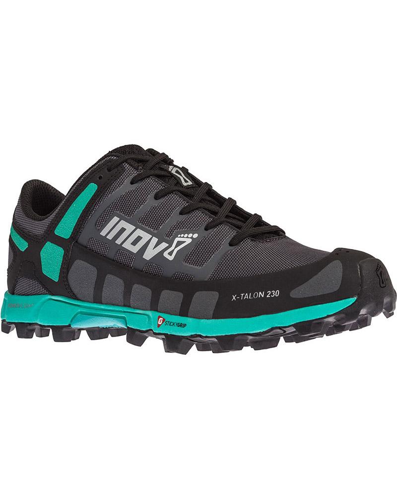 Inov-8 Women's X-Talon 230 Trail Running Shoes Grey/Teal 0