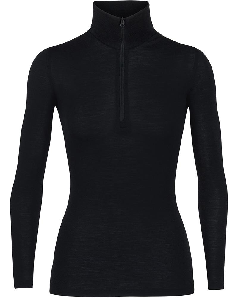 Icebreaker Women's Merino Bodyfit 175 Everyday L/S Half Zip 0