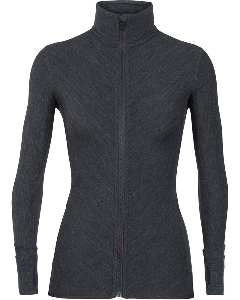 Icebreaker Women's Merino Descender L/S Zip Jacket 0
