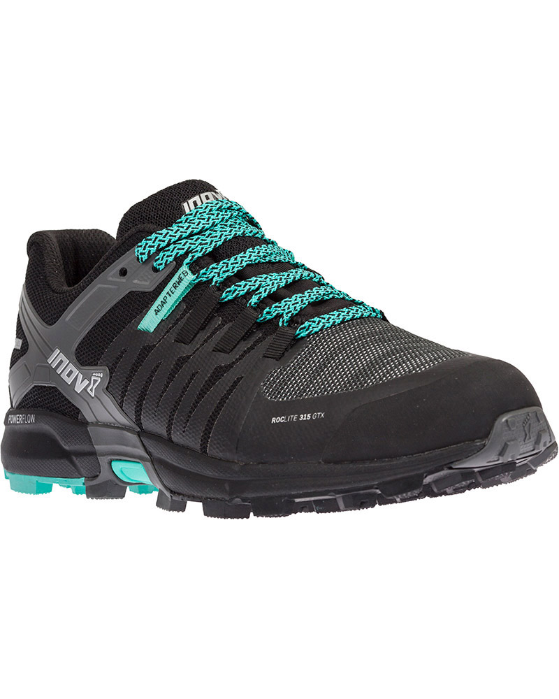 Inov-8 Women's Roclite 315 GORE-TEX IF Trail Running Shoes Black/Teal 0