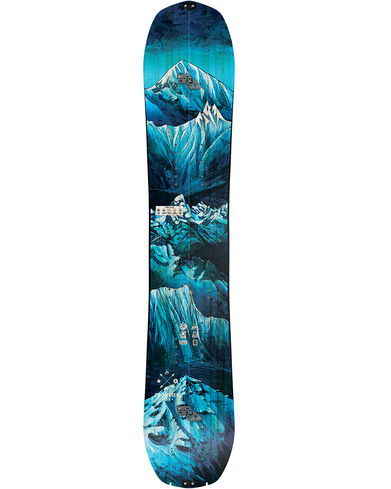 Jones Men's Frontier Split 2019 / 2020 Snowboard No Colour 0