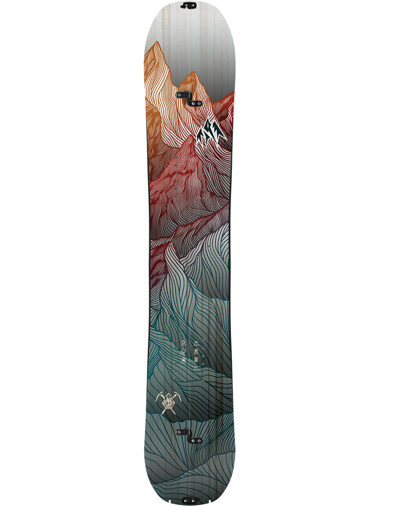 Jones Men's Solution Split 2019 / 2020 Snowboard No Colour 0