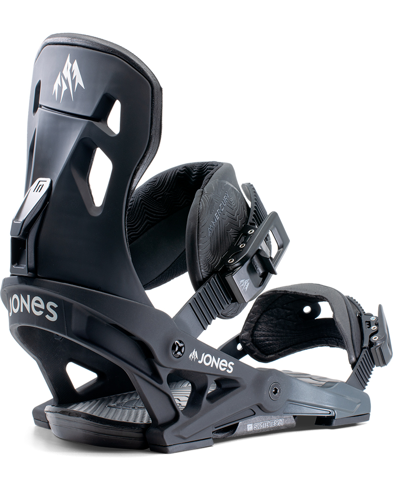 Jones Men's Mercury Snowboard Bindings 2019 / 2020 Black 0