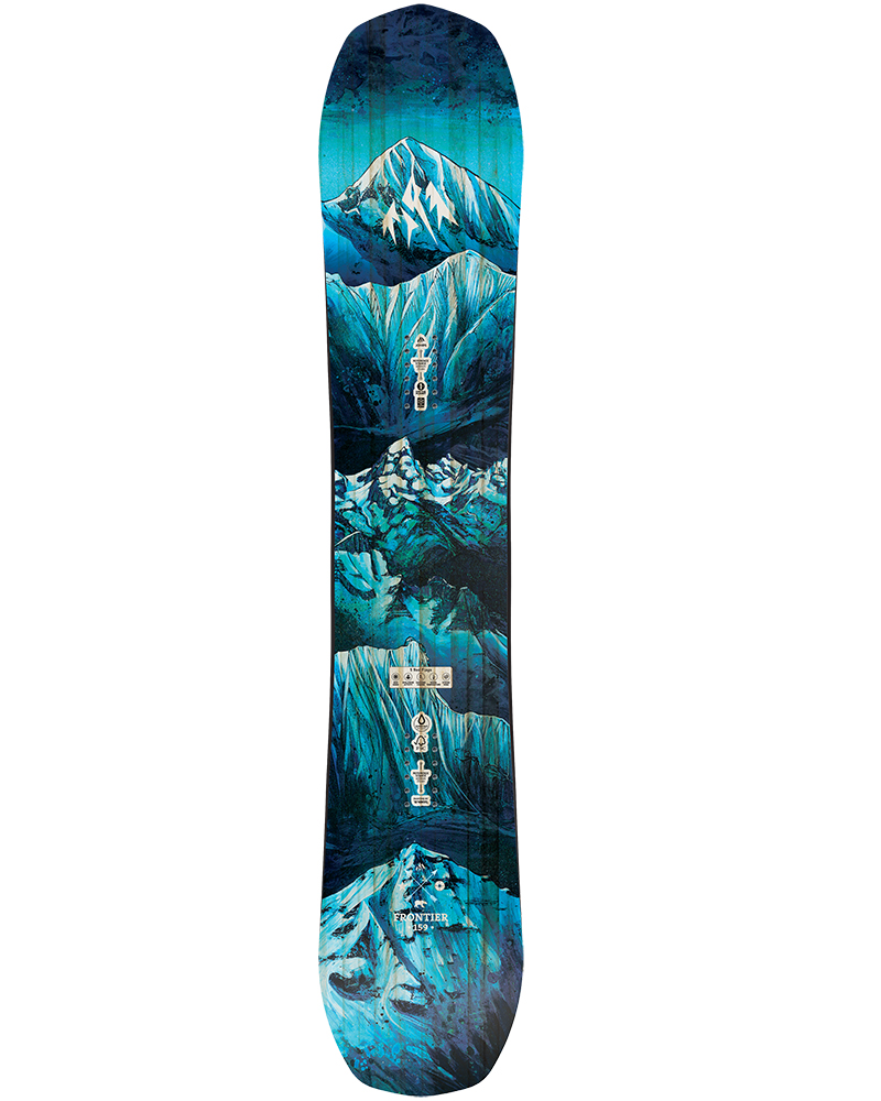 Jones Men's Frontier Snowboard 2019 / 2020 No Colour 0