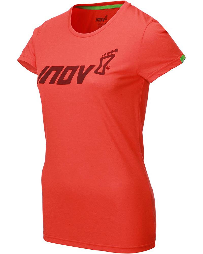 Inov-8 Women's S/S Triblend T-Shirt Red 0