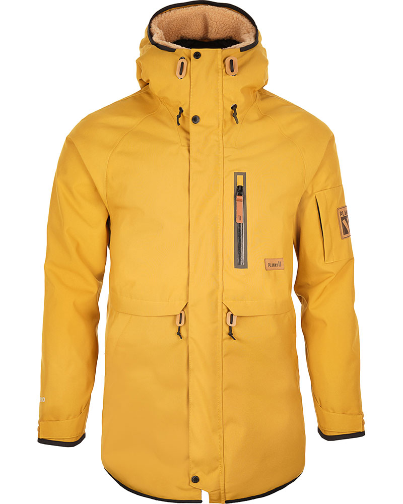 Planks The People's Parka Ski Jacket English Mustard 0