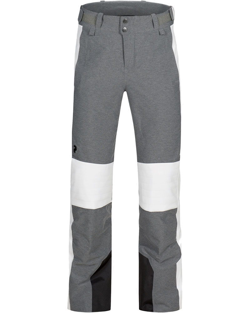 Peak Performance Women's Lanzo Melange Ski Pants Melange Grey 0