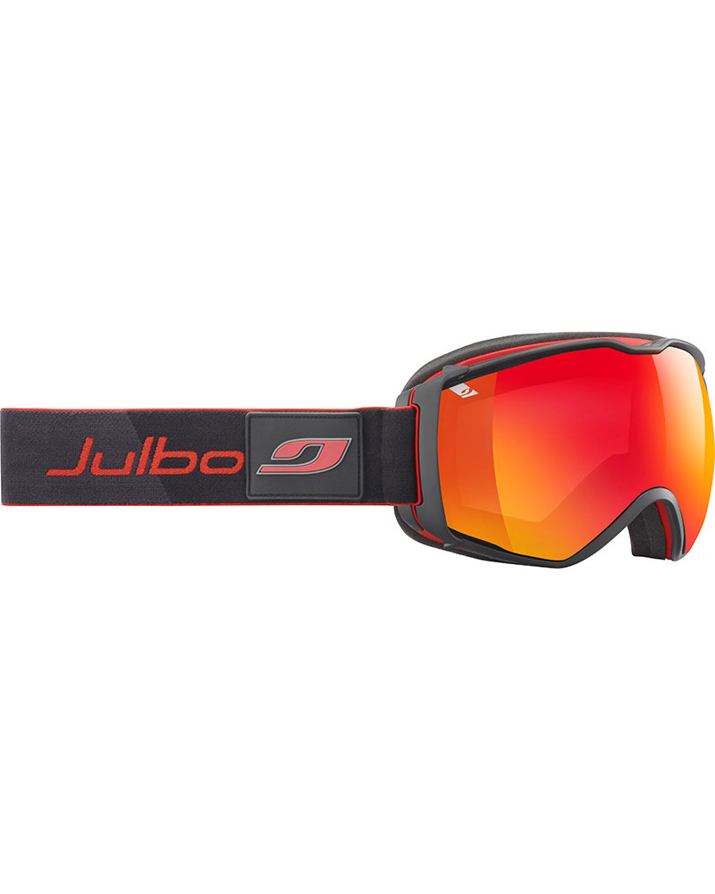 Julbo Airflux Black Red / Spectron2 Vermillion Multilayer Fire Goggles 2017 / 2018 Goggles Black Red 0