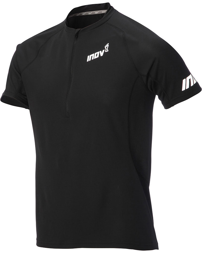 Inov-8 Men's Base S/S Zip Top Black 0