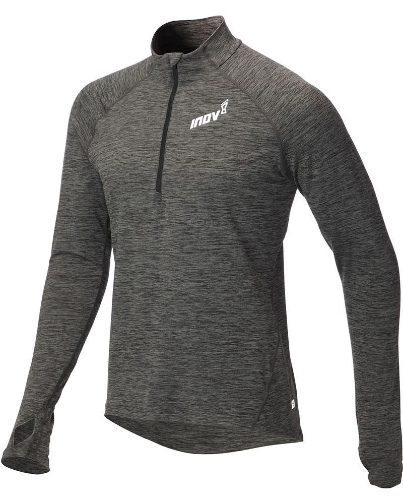 Inov-8 Men's Mid L/S Zip Top Dark Grey 0