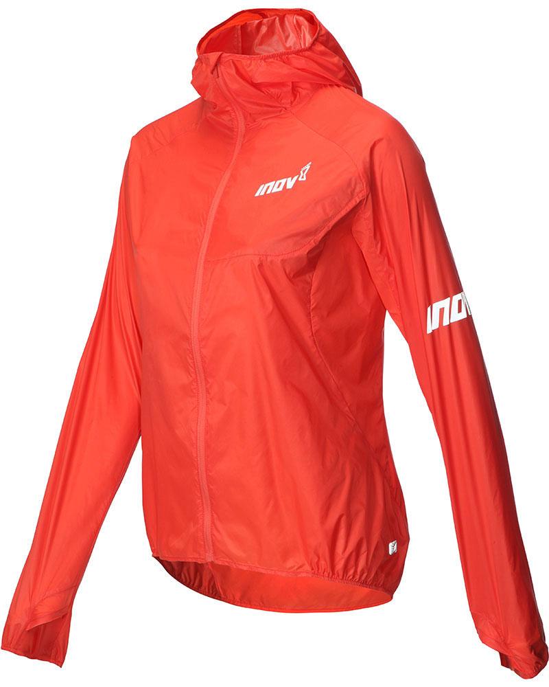 Inov-8 Women's Pertex Quantum Full Zip Windshell Jacket Coral 0