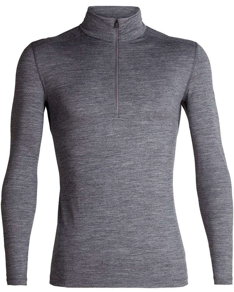 Icebreaker Men's Merino Bodyfit 200 Oasis L/S Half Zip 0