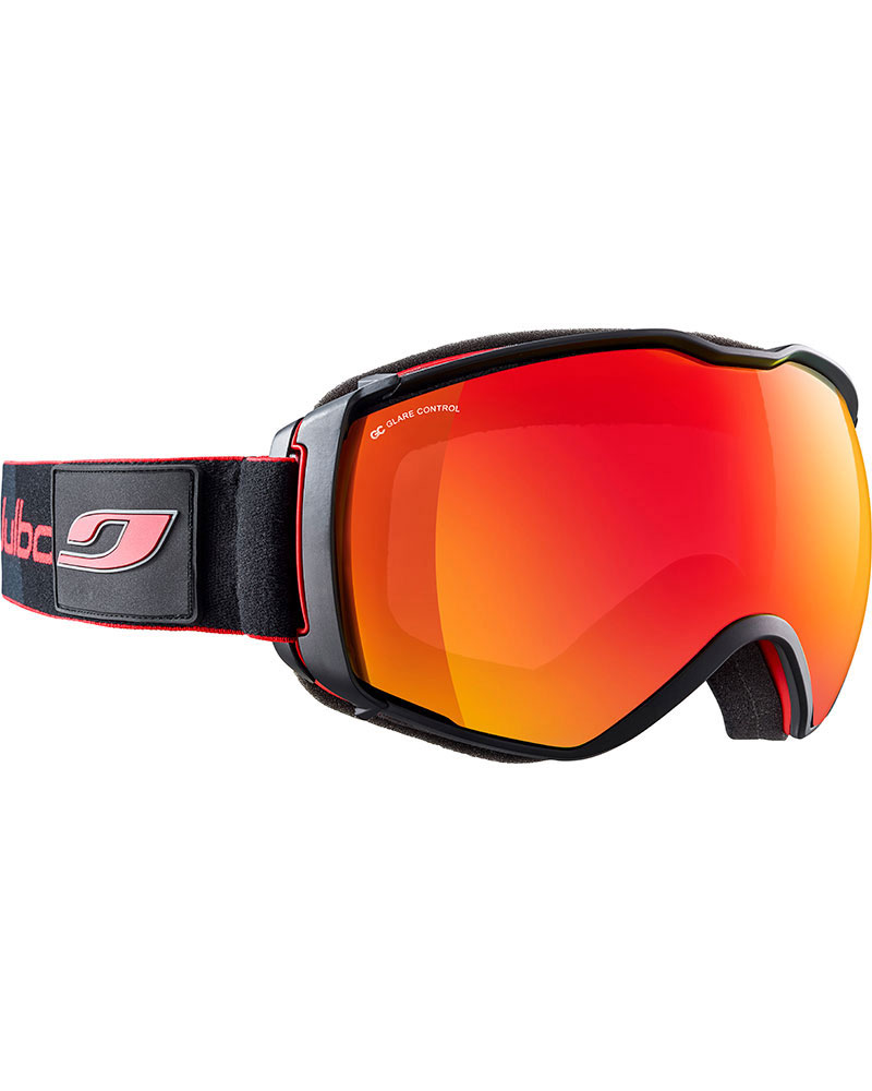 Julbo Airflux Red Black / Red Polarized Multilayer Fire Goggles 2018 / 2019 Red Black 0