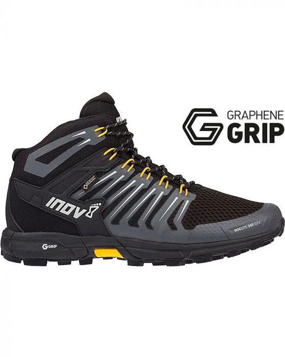 Inov-8 Men's Roclite 345 Mid GORE-TEX Graphene Grip Walking Boots 0