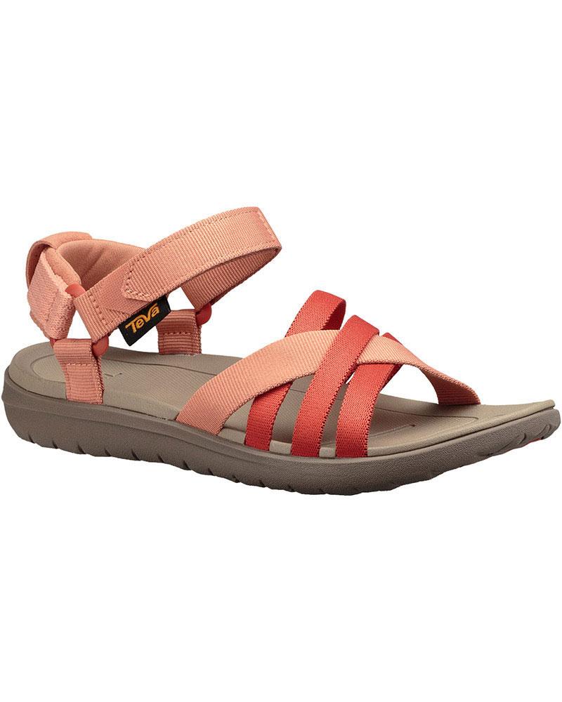 Teva Women's Sanborn Sandals Coral Sand 0